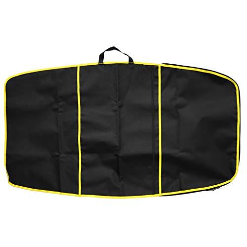 perfk Tragetasche Skimboard Schwimmbrett Bodyboard Tasche Wellenbrett Surfboard Body Board Aufbewahrungstasche - Gelb