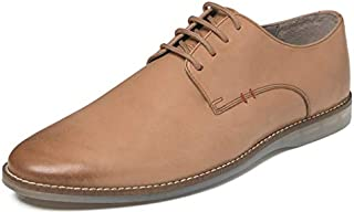 TONI ROSSI Men's Axel Tan Leather Formal Shoes