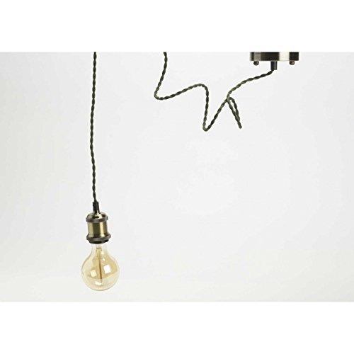 Amadeus - Lámpara de techo (latón, 1,5 m), color caqui