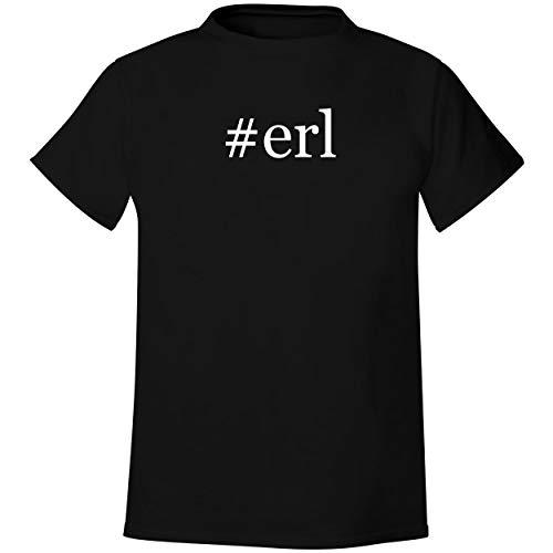 #erl - Men's Hashtag Soft & Comfortable T-Shirt, Black, Medium