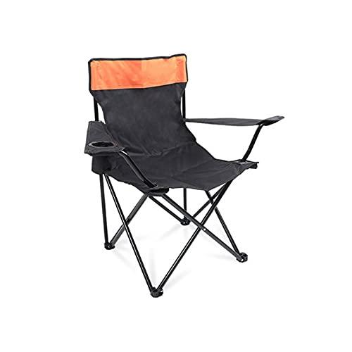 Ryyland Sillas De Camping Portátil Al Aire Libre Camping Sillas De Brazo De Camping Ocio Salón Silla Camping Playa Silla Viajes Silla Luz para Senderismo
