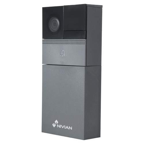 Nivian NVS-IPVD1B Smart HD WiFi video deurbel met IR nachtzicht, microSD met accu, DC of AC voeding