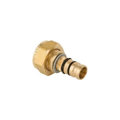 Geberit - Raccord Multicouche à sertir MEPLA - Jonction avec écrou en bronze MEPLA 26-1\