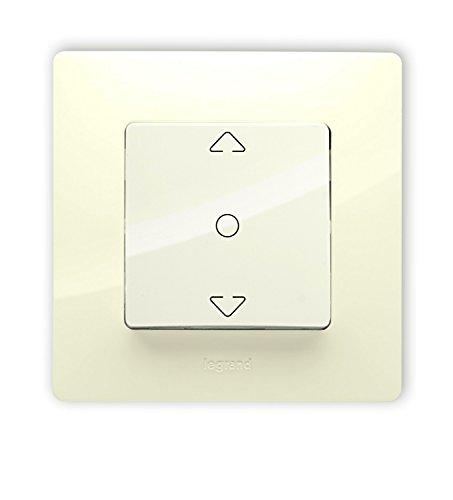 Legrand 448396618Interruptor para persianas Roul Niloe crema