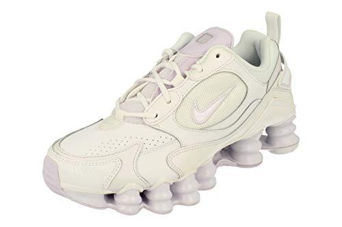 Nike Shox TL Nova, Running Shoe Womens, Blanco/UVA Ligero, 39 EU