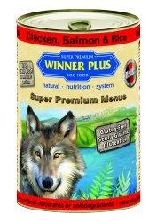 Winner Plus Mangime Umido Cane Chicken Salmon e Rice 400gr