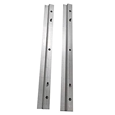Genesis Grill Bottom Drip Tray Rails 88203 and Hardware for Weber Genesis Gold Sliver Spirit