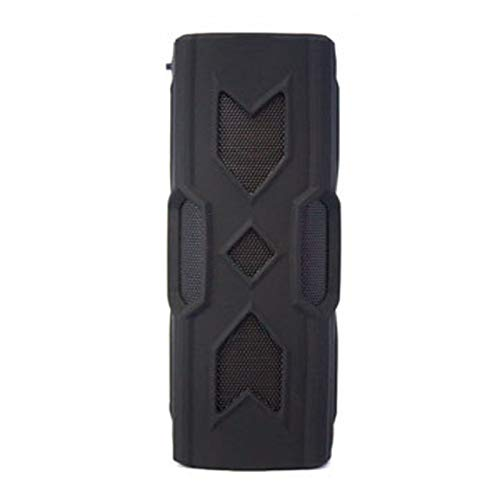 Dkee Bluetooth-Lautsprecher BT 4.2 schwarz tragbare drahtlose Lautsprecher wasserdicht Mobile Stromversorgung Subwoofer Subwoofer NFC 3D-Stereo-Surround-Sound-Musiklautsprecher for Telefon PC