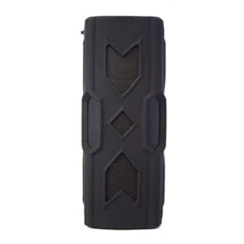 KK Timo BT 4.2 negro portátil altavoz inalámbrico resistente al agua energía móvil subwoofer subwoofer NFC 3D envolvente estéreo de sonido altavoz de la música for el teléfono de PC Altavoces portátil