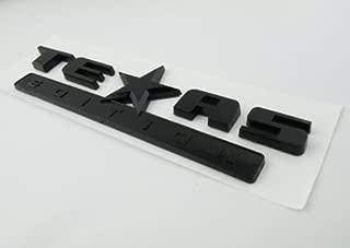TrueLine Texas Edition Side Door/Tailgate Emblem (Black)