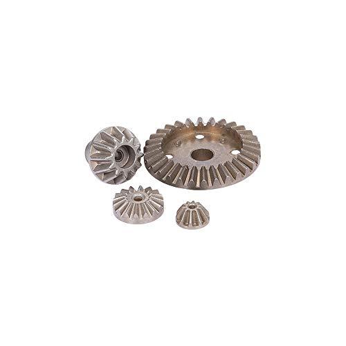 Goolsky Für WLtoys XKS 144001 1/14 RC Auto Diff Gear Differential Hauptmetall Stirnradsatz 2 * Zahnradsatz