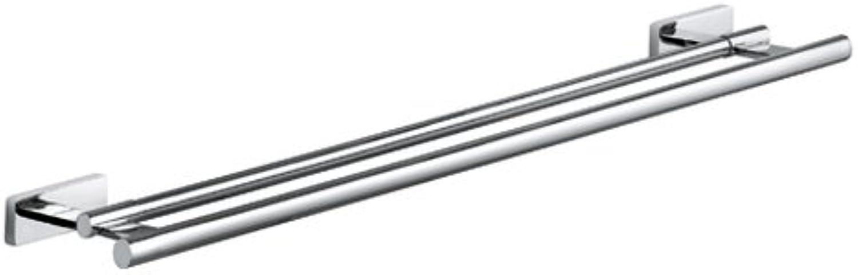 Kludi A-xes 4898805  Doppel-Badetuchhalter chrom