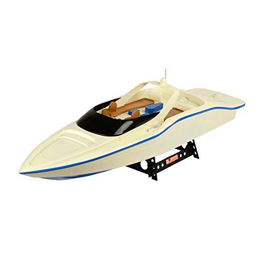 SSBH Barco rápido de surf eléctrico, barco de alta velocidad de control remoto, juguete de modelo de barco naval super grande, hélices dobles en la cola, batería de gran capacidad, duración de la bate