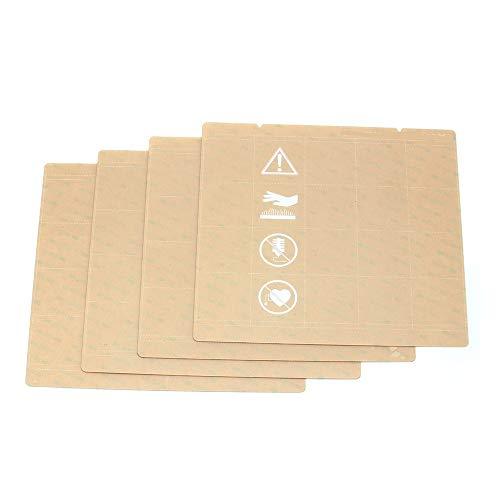 XIAOMINDIAN 5pcs Sheet Heat Bed Platform Buildplate Transparent Sticker Sheet For Prusa i3 Mk3 Mk2.5 Heat Bed With 300LSE Printer Parts