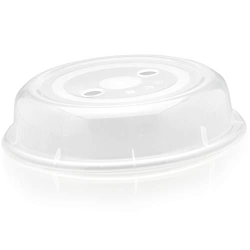 Abdeckung für die Mikrowelle von Hausfelder, Standard Ausführung robust und BPA-frei, Mikrowellen Deckel und Haube für Mikrowellengeschirr
