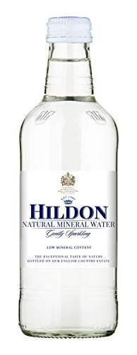 Hildon - Gently Sparkling Natural Mineral Water - 11.2 oz (6 Glass Bottles)