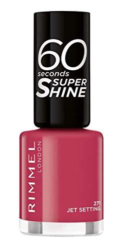 Rimmel 60 Seconds Super-Shine Nail Polish, Jet Setting 271, 8 ml