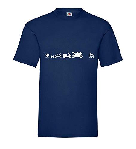 Motorcycle Evolution mannen T-shirt - shirt84.de