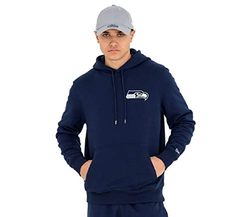 New Era NFL SEATTLE SEAHAWKS Team Apparel Hoody Pullover, Größe:L