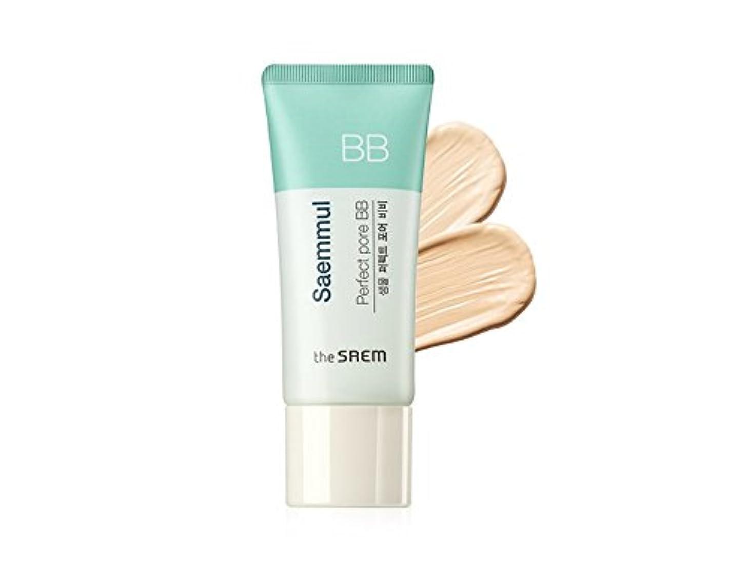 適切にたぶんシェードThe Saem Saemmul Perfect Pore BB Cream (Primer + BB) セームセムムルパーフェクトポアBBクリーム(プライマー+ BB)海外直送商品 (#01)