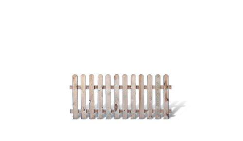 meingartenversand.de Günstiges Zaundiscount Paket 5 x Gartenzäune Friesenzäune im Maß 180 x 80 cm (Breite x Höhe) aus Kiefer/Fichte, druckimprägniert Günstig & Gut Aktions Set