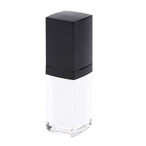 Fenteer Flacon En Acrylique Cosmétique Bouteille de Crème Échantillon Verre Pour Huiles Essentielles et Couvercle - 15ml