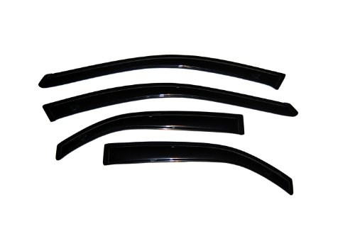 Auto Ventshade 94236 Original Ventvisor Side Window Deflector Dark Smoke, 4-Piece Set for 2002-2006 Toyota Camry