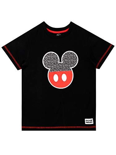 Disney Camiseta para Niños Mickey Mouse Negro 2-3 Años