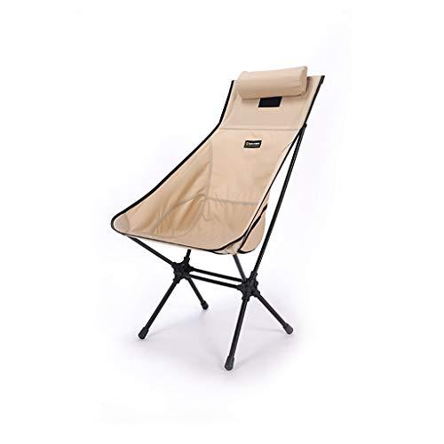 WXIANG Faltstuhl Rucksackstuhl Outdoor Camping Stuhl Ultralight High Back Folding Camping Stuhl Für Outdoor Camp Fishing Wanders Rasen Tragbar