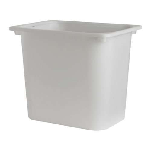 Ikea 2 packs Storage box, white