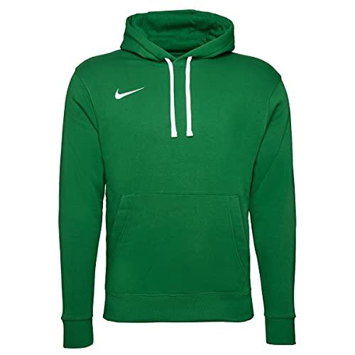 Nike Męska bluza z kapturem Team Club 20 zielony zielony/biały (Pine Green/White) m