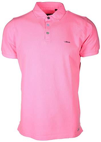 New Zealand Auckland Herren Poloshirt Waiapu Größe XXL Pink (pink)