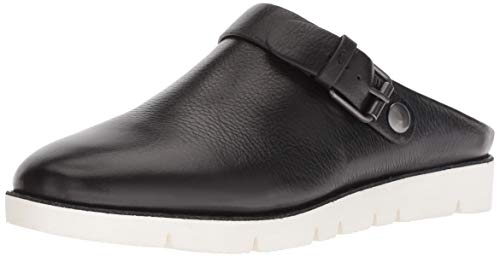 Gentle Souls Womens Esther Clog with Backstrap, Black, 7 M US