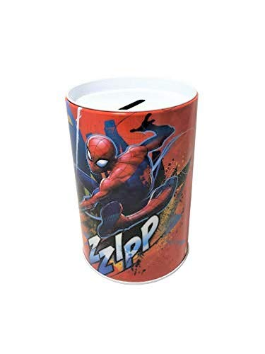 Product Image 1: The Tin Box Company Spider-Man Kids Money (Coin) Saving Bank – Zzip