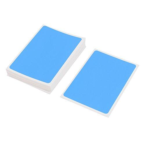 Generic Cell Phone Tablet Screen Dust Absorber Dedust Sticker 45Pcs Blue