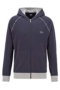 BOSS Herren Mix&Match Jacket H Sweatshirts, Blau (Dark Blue 409), Large
