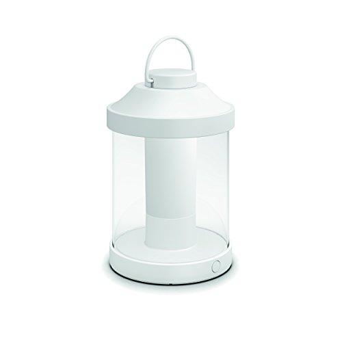 Philips Lighting Abelia Lampada da Tavolo da Esterno senza Fili, LED Integrato, Bianco