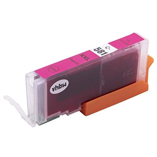 vhbw Cartucho de Tinta Magenta Compatible con Canon Pixma TS8350, TS6350, TS705, TS9550, TR8550, TR7550