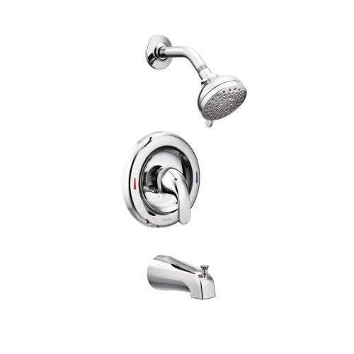Moen 82603 Tub Shower Adler 1 Handle 4 Spray Tub And Shower