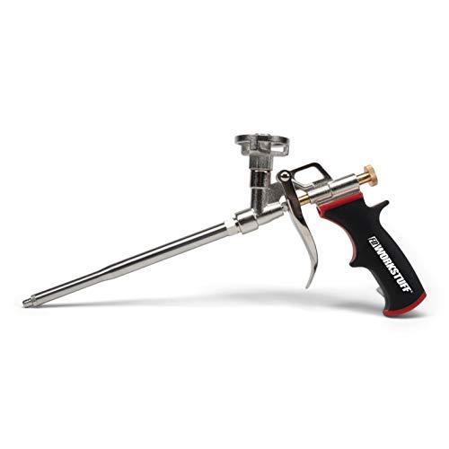 Pistola de espuma, 1 unidad, pistola para espuma de poliuretano, metal, para procesar espuma de pistola
