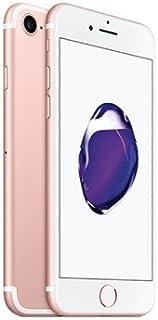 موبايل ابل ايفون 7 مع تطبيق فيس تايم - 32 جيجا ويدعم تقنية ال تي اي من الجيل الرابع، لون ذهبي وردي وذاكرة رام بسعة 2 جيجا،...