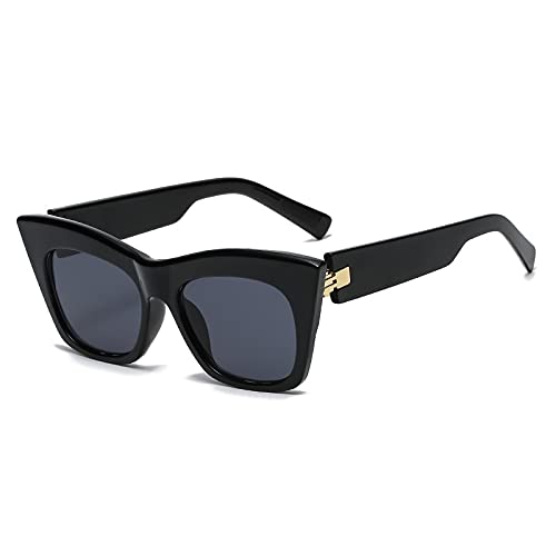 AMFG Moda Big Frame Gafas de sol Hombres y mujeres Street Shooting Sunglasses Summer Outdoor Glasses Driving Mirror (Color : E)