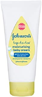 Johnson 's Mono de bebé crema hidratante, 100 ml, pack de 6