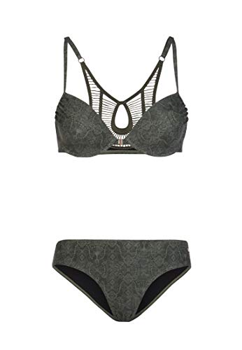 Protest Damen Bügel-Bikini Lusty 19 BCUP True Olive M/38