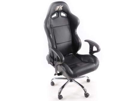 FKRSE01300; bureaustoel Edition Daytona, kunstleer, blauw