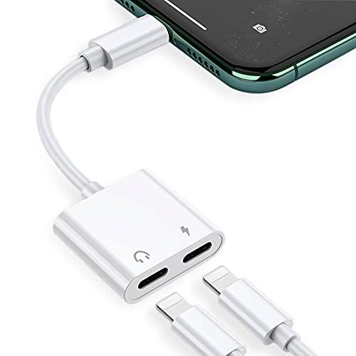 [5 en 1] Adaptador de Auriculares para iPhone Convertidor de Conector de...