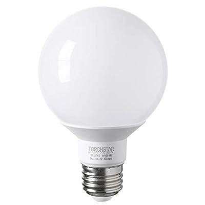 G25 Globe LED Light Bulb, 5W non-dimmable