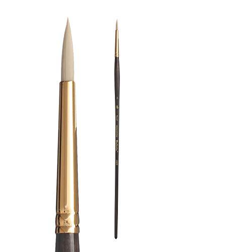 Princeton Series 6300 Synthetic Bristle Acrylic & Oil Brush 2 round