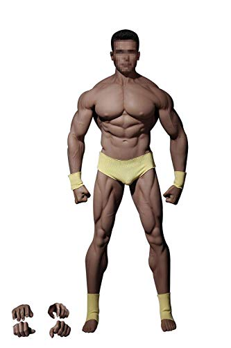 Phicen 1/6 Scale Super Flexible Male Muscular Seamless Body PL2016-M34