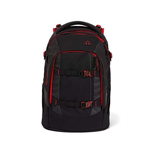 satch Pack Fire Phantom, ergonomischer Schulrucksack, 30 Liter, Organisationstalent, Schwarz